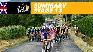 Summary - Stage 13 - Tour de France 2018