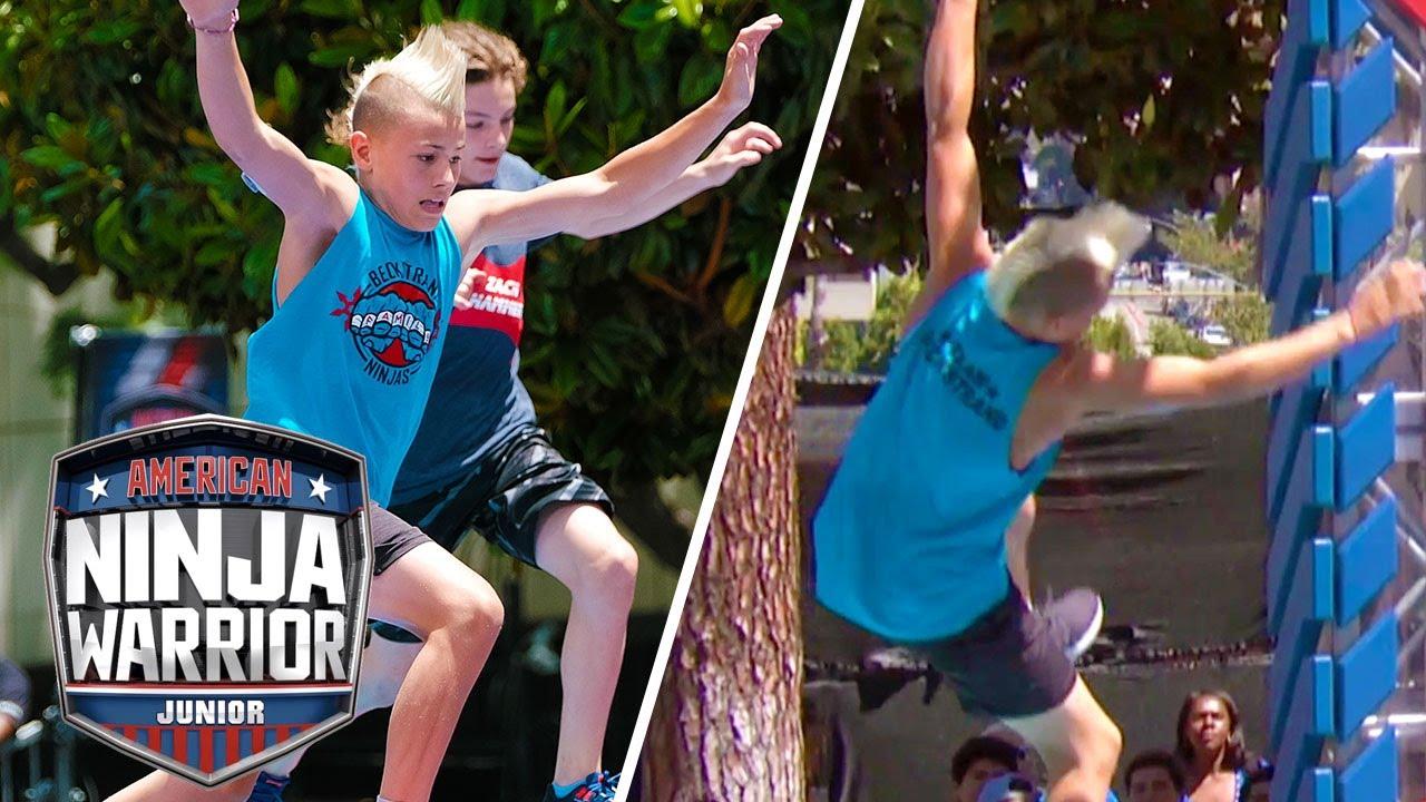 Download EPIC FALLS We Weren't Expecting! 😱🌊 | American Ninja Warrior Junior | Universal Kids