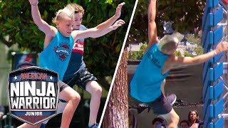 EPIC FALLS We Werent Expecting!  | American Ninja Warrior Junior | Universal Kids
