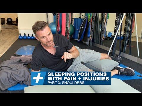Sleeping Positions - Pt.3: Shoulders | Tim Keeley | Physio REHAB