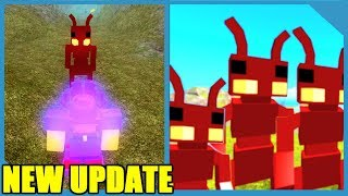 NEW UPDATE!! ANT PEOPLE AND GIANT CAVE - ROBLOX BOOGA BOOGA