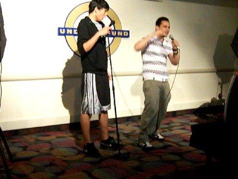 Karaoke Night in the Underground - September 12, 2008