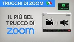 Fare Share Screen dalla WebCam di Zoom - [LUIGI TRAINING]