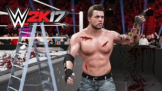 WWE 2K17 - ULTIMATE BLOODIEST MATCHES!! WWE 2K17 MY CAREER MODE EP 7! (WWE 2K17 Gameplay)