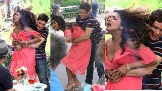 Priyanka Chopra Wardrobe Malfunction While Shooting   Indian Film History