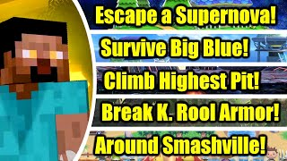 Can Minecraft Steve Beat These 30 Challenges in Super Smash Bros. Ultimate?