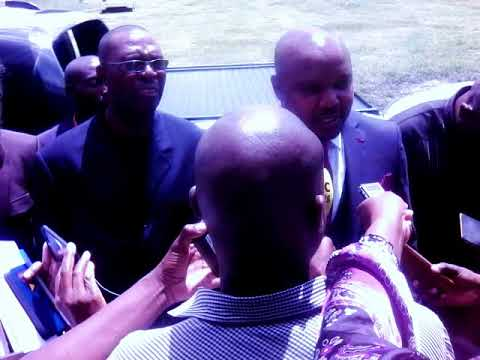 Copy of MULTI-PEOPLES DEMOCRATIC PARTY (MPDP) PRESIDENT ON UNVEILING OF THE PARTY MANISTO IN HARARE