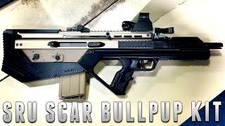 SRU SCAR Bullpup Conversion Kit [The Gun Corner] Airsoft Evike.com