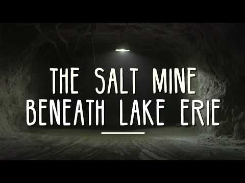 The Cargill salt mine beneath Lake Erie