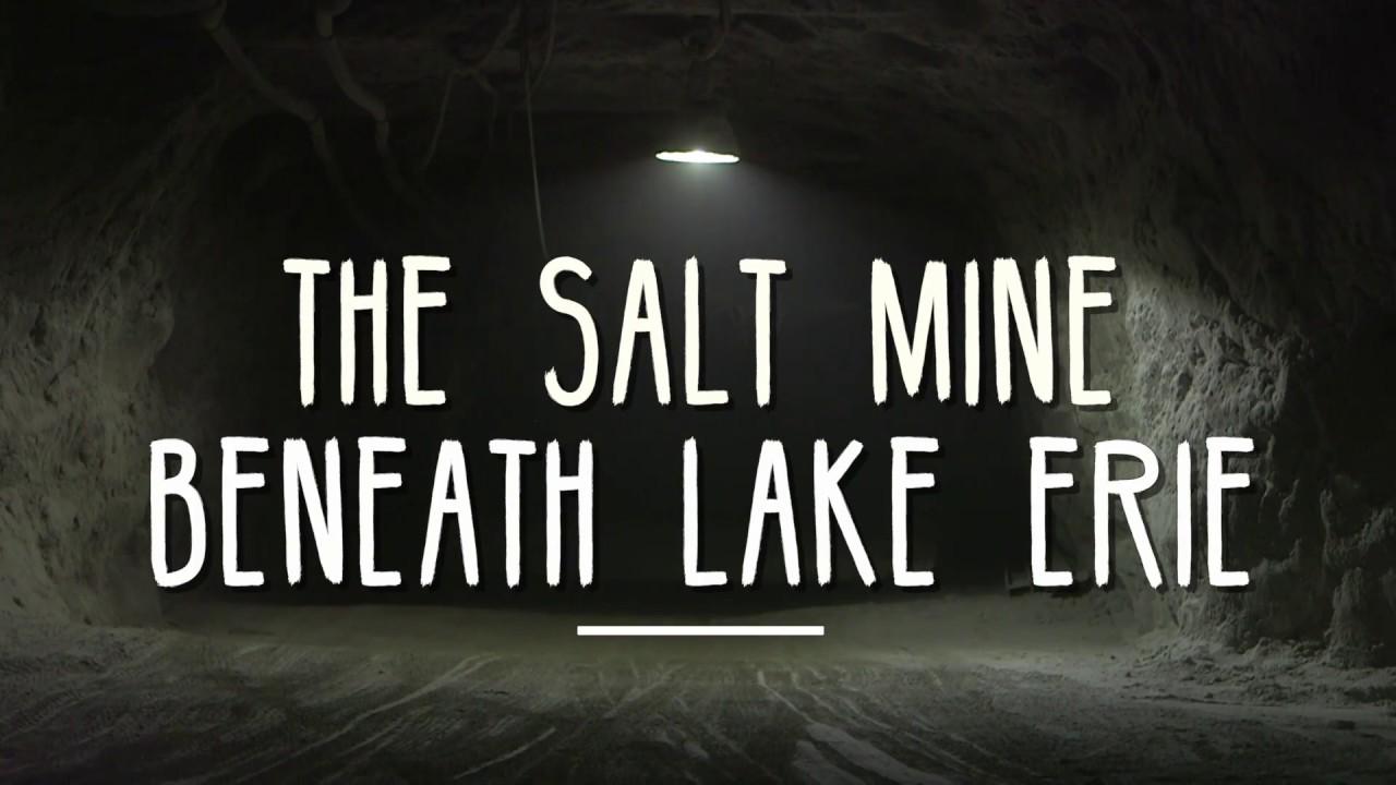 The Cargill salt mine: an other world under Lake Erie - Rock The Lake