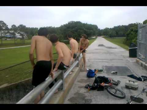4 White Boys on the Bridge at Jay Blanchard 3