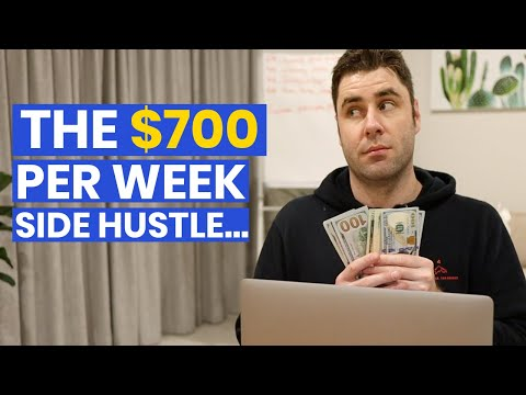 The Simple Way To Make $700 Per WEEK With This Side Hustle! (Make Money online)