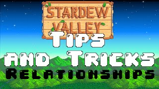 Stardew Valley Tips and Tricks #4 - RELATIONSHIPS