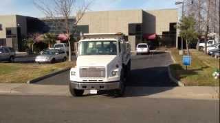 1995 Freightliner FL106 10 Yard Tandem Dump Truck for sale