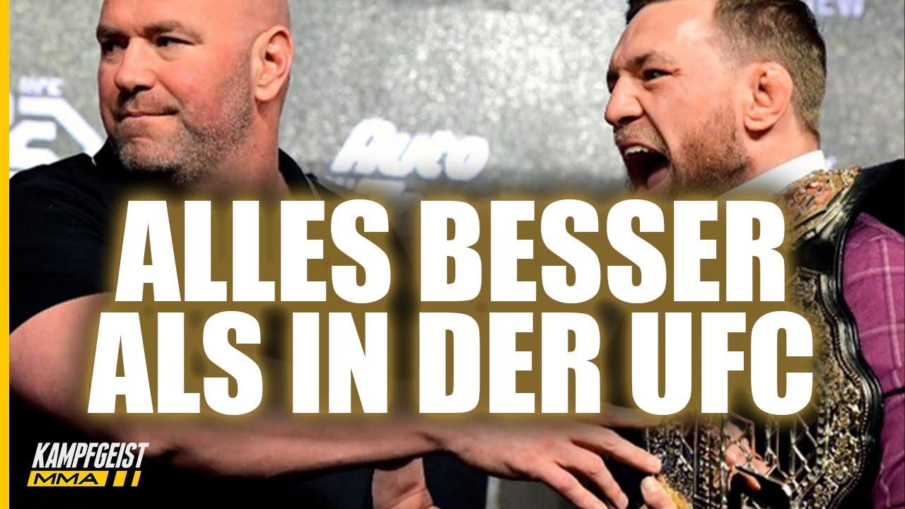 Wird DAS der UNTERGANG für die UFC? NEUE KONKURRENZ kommt!