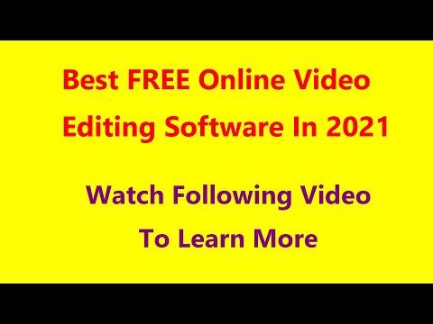 Смотреть ролик Best FREE Online Video Editing Software In 2021