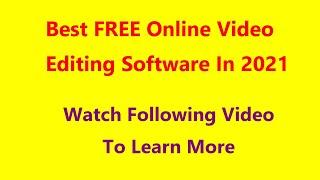 Best Online Video Editing Software In 2021 Medium (360p)