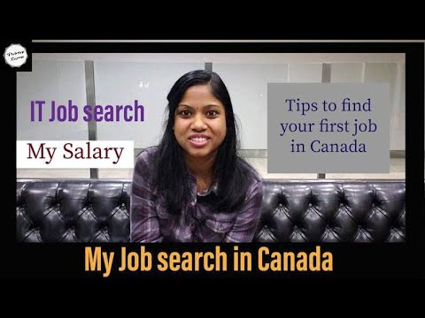 My job search experience in Canada in Tamil|Salary |How to find jobs in canada