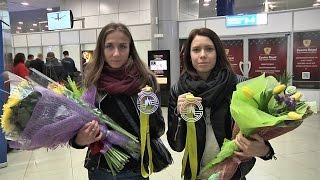 Спортсмены национальной сборной Беларуси по легкой атлетике вернулись с ЧЕ-2015