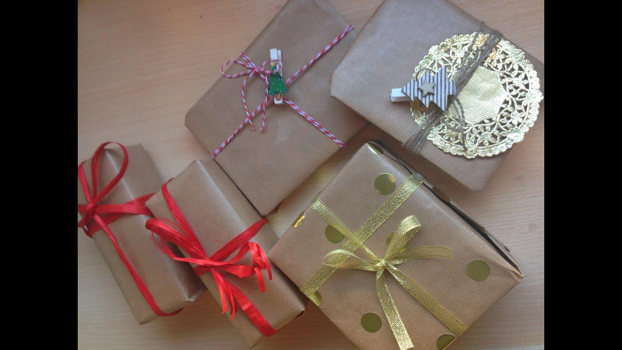 Ideas para envolver regalos youtube for Ideas para envolver regalos