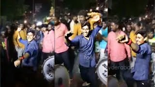 Begumpet Dancer Naveen Awesome Dance In Chatal Band 2017 New Video