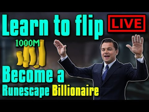 Learn to Flip in OSRS LIVE! - Flipping Guide / Money making