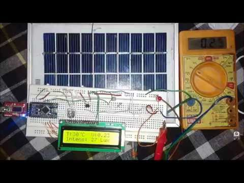 Solar Energy Measurement Using Arduino By Saddam Khan