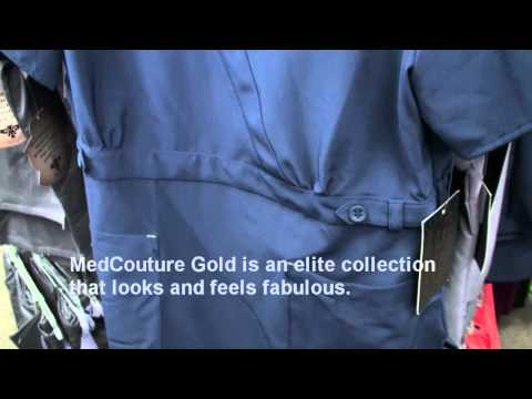 MedCouture Gold at iScrubs.com and Scrubs Etc!
