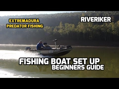 Lure Fishing Boat Set Up - Beginners Guide - (video 222)