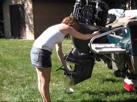 Yamaha Stroke Outboard Motor Oil Drain Plug