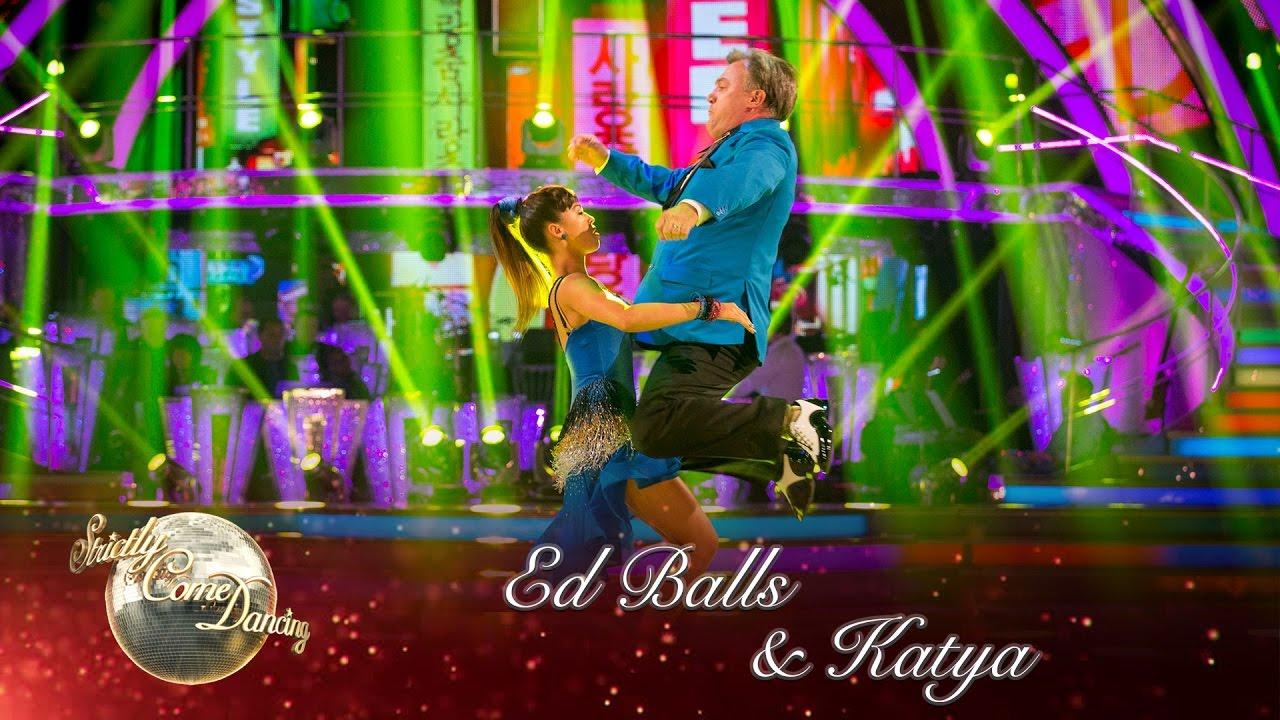 Ed Balls Katya Jones Salsa To Gangnam Style By Psy Strictly