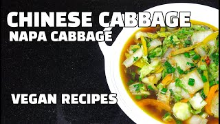 How to cook Chinese Cabbage - Napa Cabbage - Nappa Cabbage