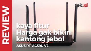 ASUS RT-AC59U V2, kaya fitur gak sampai 1 juta