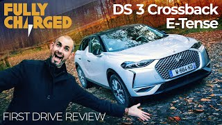 DS 3 Crossback E-Tense - Luxury compact SUV? | Fully Charged