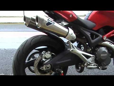 Soundcheck: Ducati Monster 696 + Termignoni Endschalldämpfer