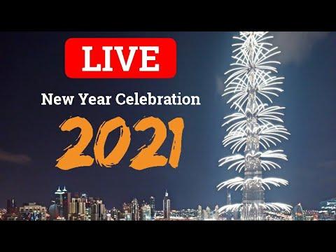 Live Burj Khalifa Happy New Year 2021