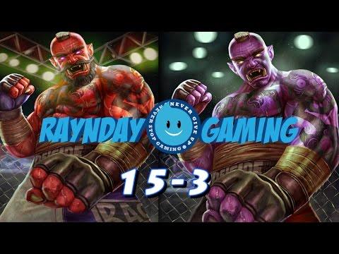 The New Ravana Is HERE! | 15-3 | New Ravana Build and Gameplay (SMITE)