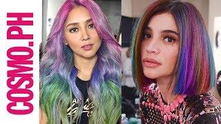 What If Pinay Celebs Had Rainbow Hair?