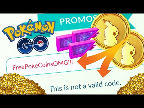 "WHY PROMOCODES DON'T WORK FOR POKEMON GO?! NEW POKEMON GO FEATURE ""PROMOCODES"""