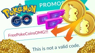 WHY PROMOCODES DON'T WORK FOR POKEMON GO?! NEW POKEMON GO FEATURE