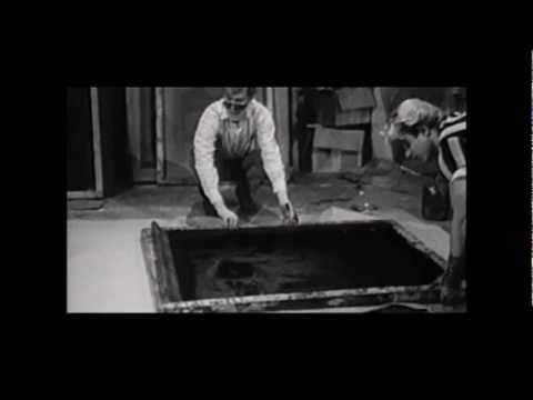 Andy Warhol screenprinting