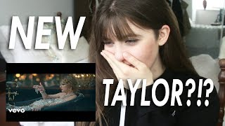 Taylor Swift - LOOK WHAT YOU MADE ME DO (Music Video) | REACTION