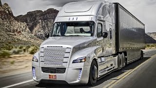 ► Freightliner Inspiration Truck - First autonomous driving on public roads