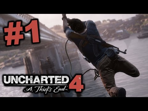 Thumbnail: UNBELIEVABLE GAMEPLAY!!! - Uncharted 4 FULL GAME Part 1 / Walkthrough/ Playthrough