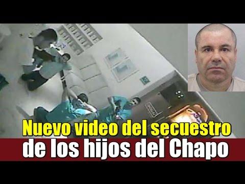 Nuevo video del secuestro de los hijos del Chapo Guzmán
