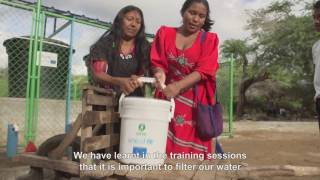 Clean water for the Wayuu people of Colombia