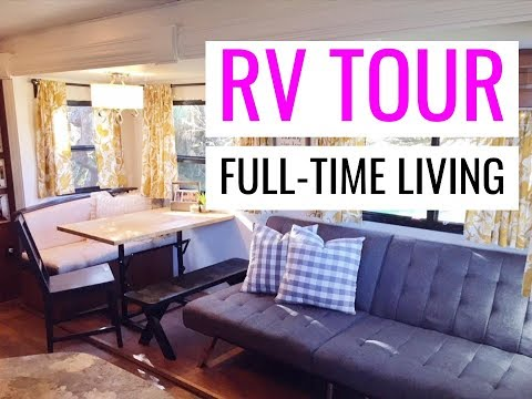 FULLTIME FAMILY RV TOUR: HOW WE FIT & LIVE IN OUR RV FULLTIME WITH 4 KIDS! Keystone Cougar 31SQBWE