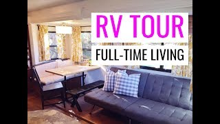 TOUR OUR BUNKHOUSE RV || HOW WE FIT & LIVE IN OUR RV FULL TIME || 4 KIDS Keystone Cougar 31SQBWE