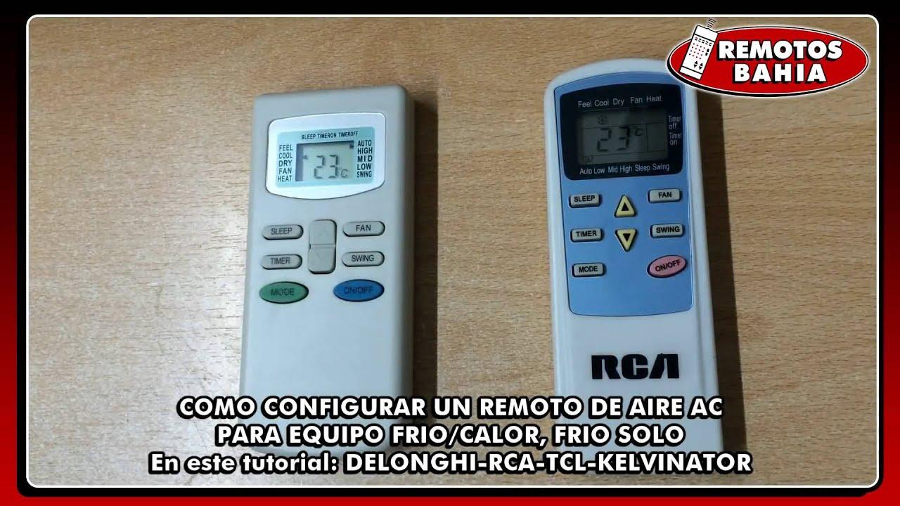 Configurar Un Control Remoto De Aire Acondicionado De Modo
