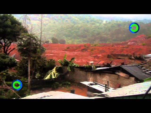 Así quedó La Pintada tras ser sepultado por desgajamiento de cerro Videos De Viajes